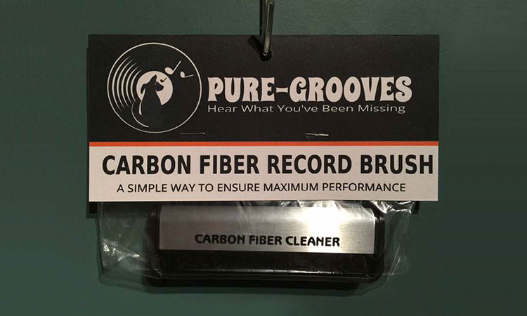 Pure-Grooves Record Brush