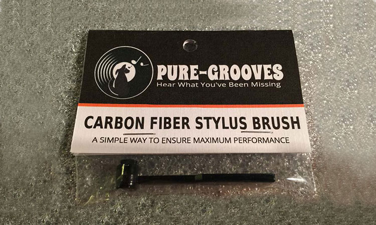 Pure-Grooves Stylus Brush