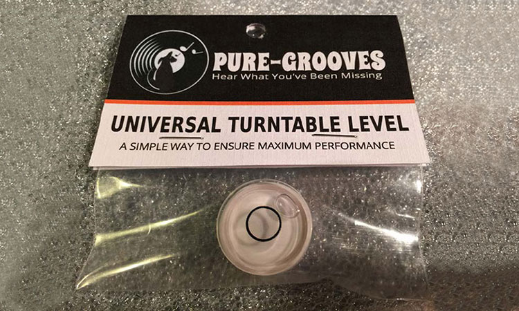 Pure-Grooves Bubble Level
